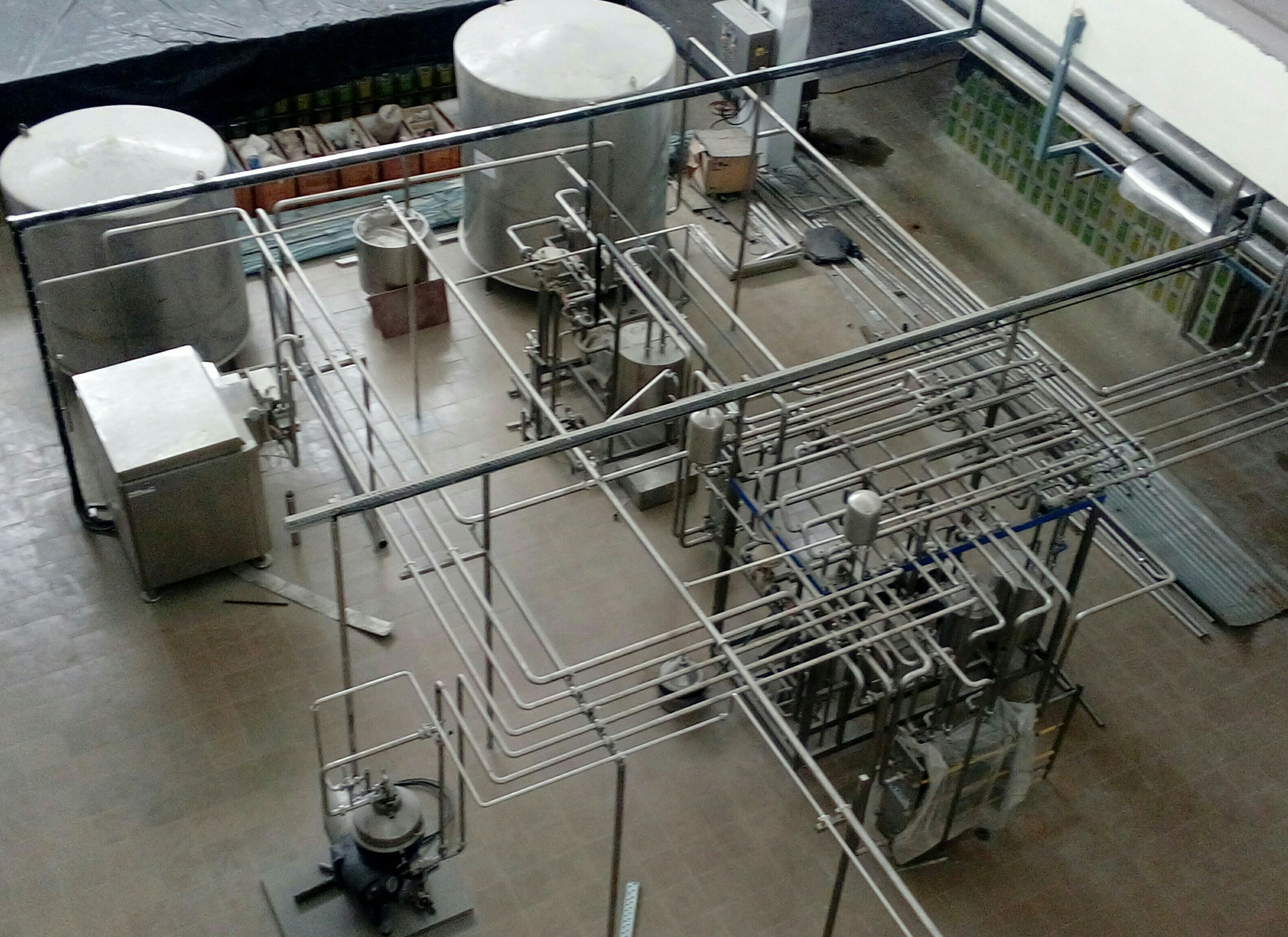 SKID MOUNTED PASTEURIZATION UNIT